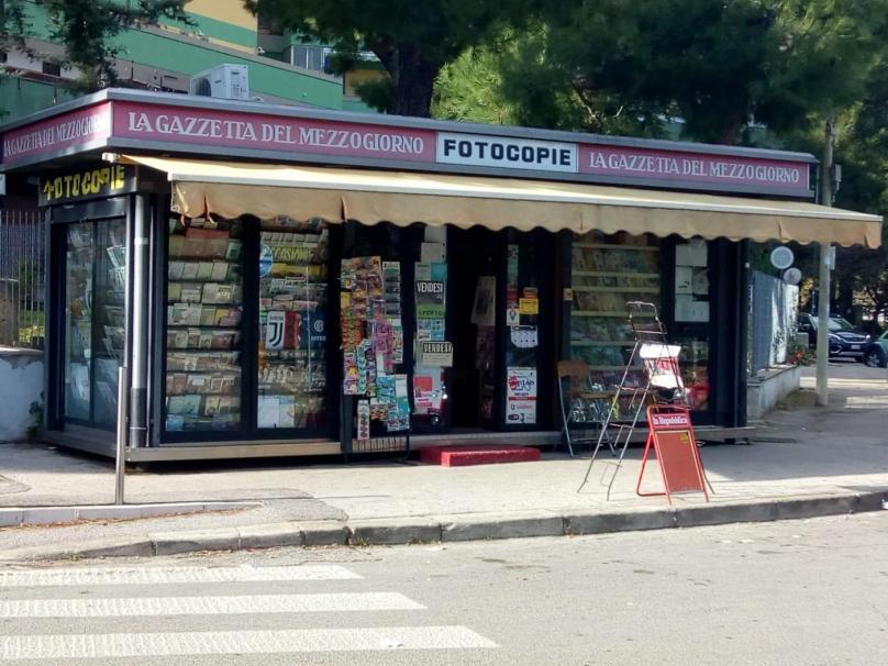 poggiofranco vendesi chiosco oltre attività ben avviata